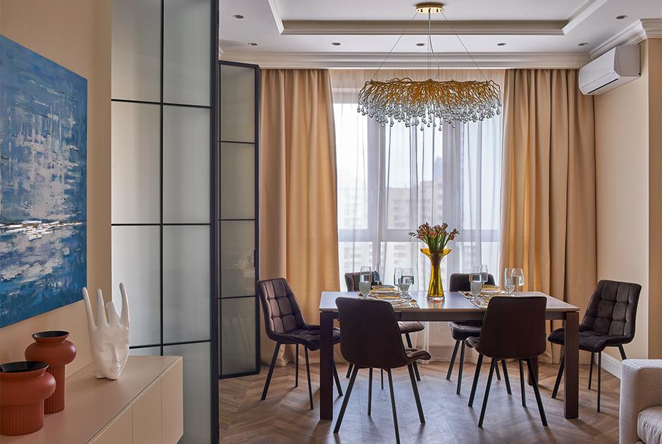 Квартира вклассическом стиле в ЖК«Макаровский»