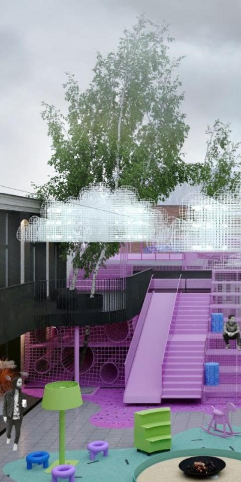 ВБасманном районе появится новое пространство скофейнями игалереями
