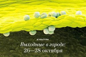 Выходные в городе: 26−28 октября