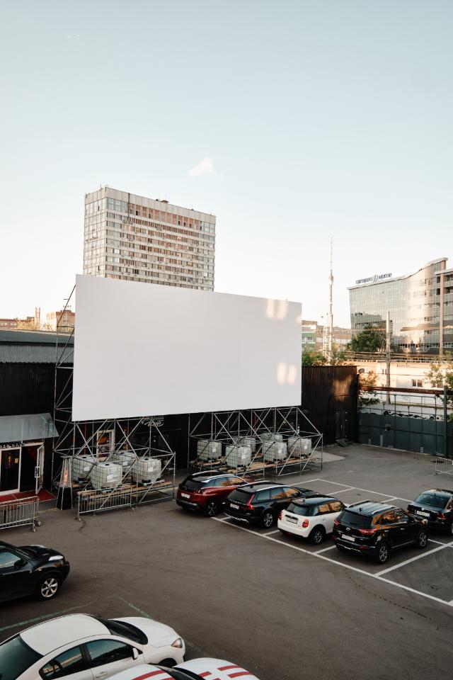 На «Флаконе» откроется drive-in кинотеатр