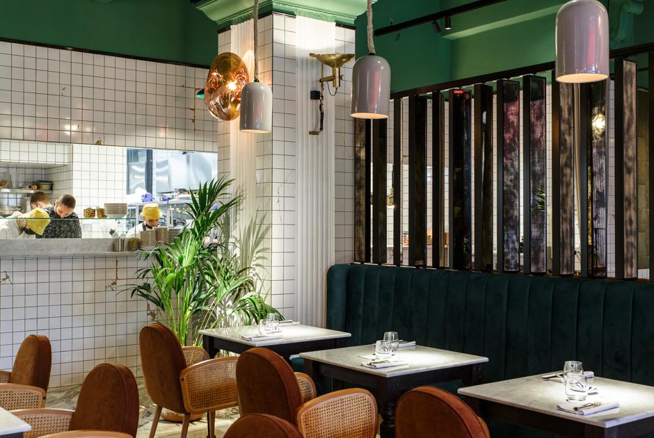 Ресторан Mina: Италия иЛиван наМалой Никитской