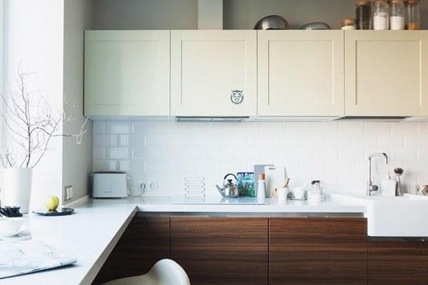 Трёхкомнатная квартира вскандинавском стиле