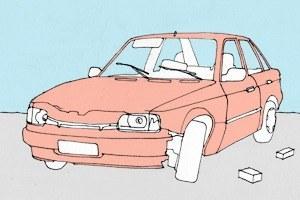 Есть вопрос: Что делать сброшенным автомобилем?