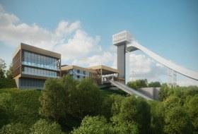 Каким будет спорткомплекс «Воробьевы горы» — горнолыжный курорт вцентре Москвы
