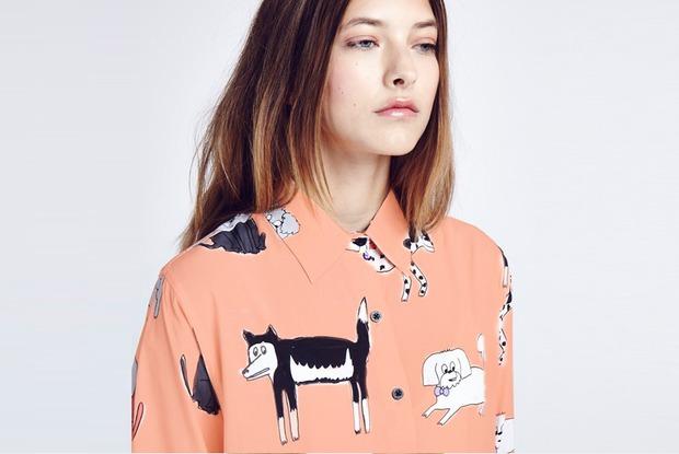 8 женских рубашек сузором