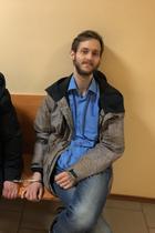 Суд оштрафовал SMM-редактора штаба Навального Александра Шепелева занеповиновение полиции
