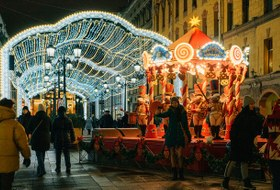 Как выглядит Петербург за 12 дней до Нового года