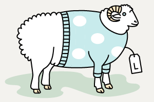 Инфографика: Изчего делают свитеры ифутболки