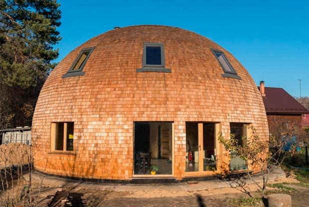 Личная сфера: Как живётся вкупольном доме вПодмосковье