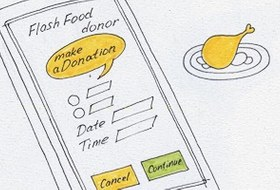 Идеи для города: Лишняя еда из ресторанов для голодающих