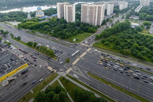 Самые смертоносные перекрестки вМоскве