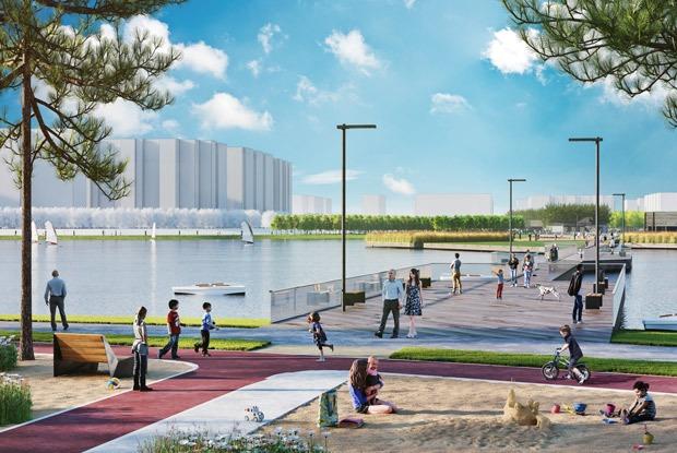 Как будет выглядеть первый парк вНекрасовке