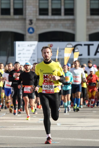 Как прошел Московский марафон