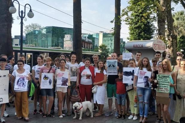 Зоозащитники Сочи собирают подписи, чтобы запретить уличный фотобизнес с животными