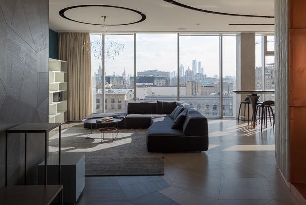 Квартира-трансформер спанорамным видом нацентр Москвы