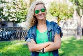 Внешний вид (Киев): Ирина Старченко, менеджер в Red Bull