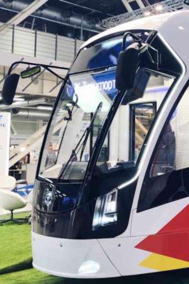 Как выглядят новые трамваи, которые поставят в Петербург в 2021 году