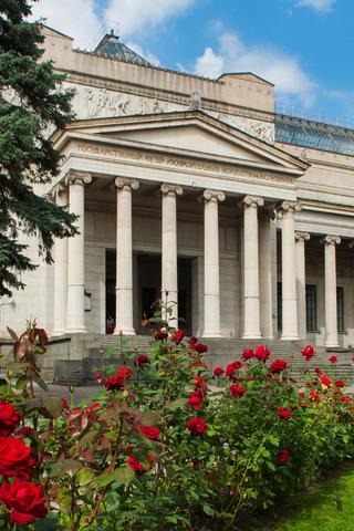 ВПушкинском музее построят подземные галереи. Они соединят главное здание ссоседними