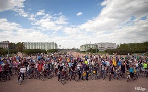 Участники пробега Let's bike it! о велодорожках
