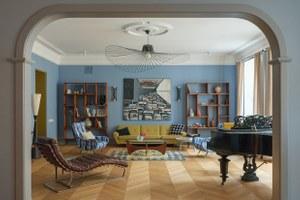 Квартира для антиквара на улице Рубинштейна