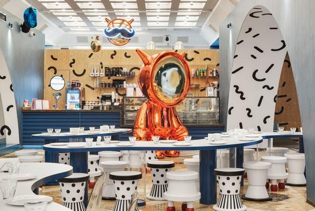 Кафе «Космос», Pescatore Fish Bar иScrocchiarella eMorbidella