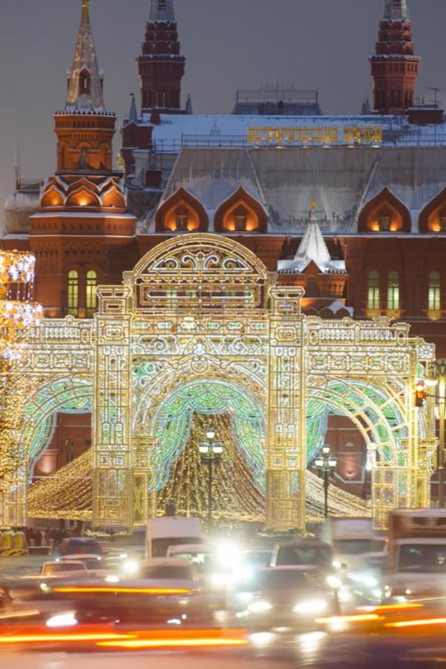 Вновогоднюю ночь вМоскве будет легкий мороз. Иснег!