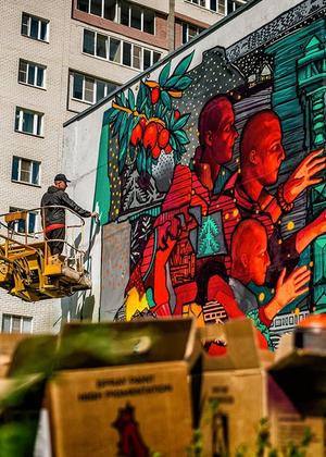 Фестиваль «Место»,  марафон экскурсий по Московскому району и десятилетие «Склада»