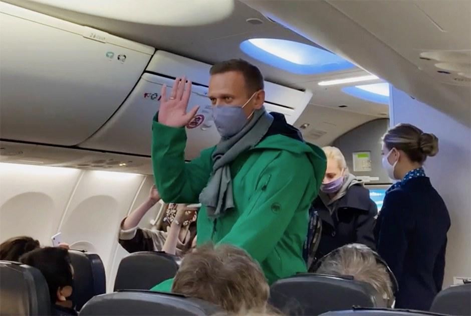 Возвращение Алексея Навального вРоссию