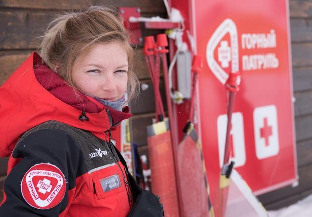 Марина Крошкина: «Я работаю горным спасателем»