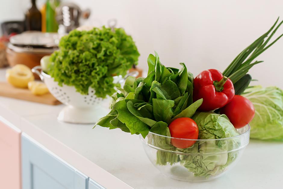 Есть больше овощей