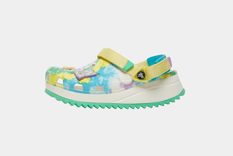 Главная пара обуви налето: Клоги Crocs наплатформе