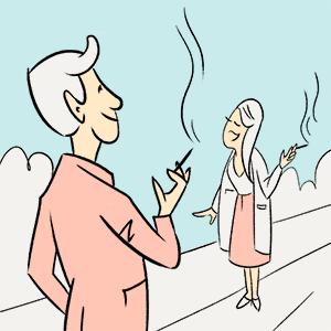 Приятное сполезным: Как вбарах «Дорогая, яперезвоню..,» запретиликурить