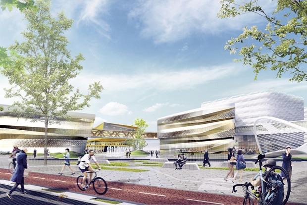 Скалодром, речные каналы и воздушные галереи: Как будет выглядеть первый IT-городок в Екатеринбурге