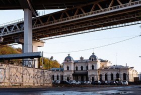 Я работаю в бывшем Ромодановском вокзале