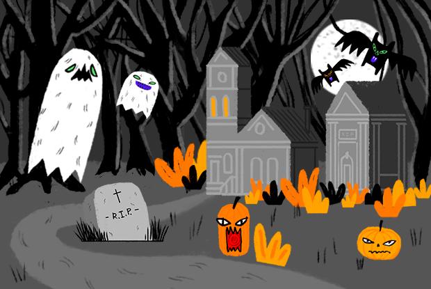 Хеллоуин вМоскве: Гдеискать безутешные души ислушать вечные часы