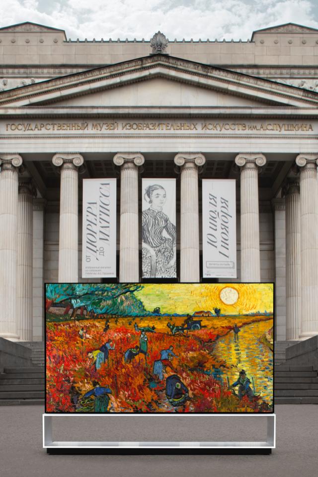 Пушкинский музей иLGзапустят виртуальные туры обимпрессионистах