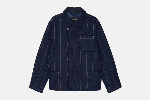 Стеганая куртка «Олово»