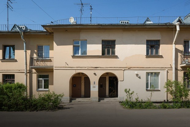 Я живу вПалевском жилмассиве (Петербург)
