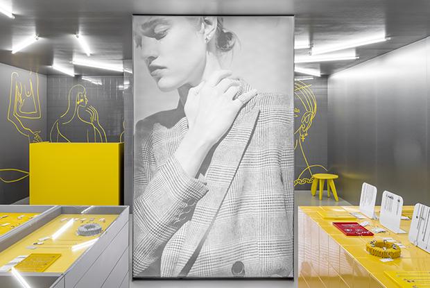 Обновленный магазин Аvgvst jewelry по проекту Гарри Нуриева