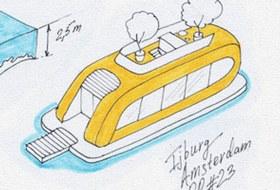 Идеи для города: Плавучие дома вАмстердаме