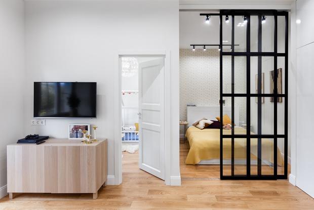 Скандинавская квартира сфранцузской планировкой наБольшой Никитской
