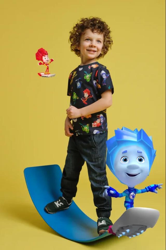 H&Mвыпустил коллекцию детской одежды с«Фиксиками». Новую серию посвятилисозданию иутилизации одежды