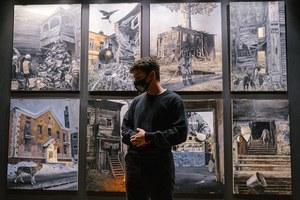 Открытие выставки Андрея Оленева в «Галерее 9Б»