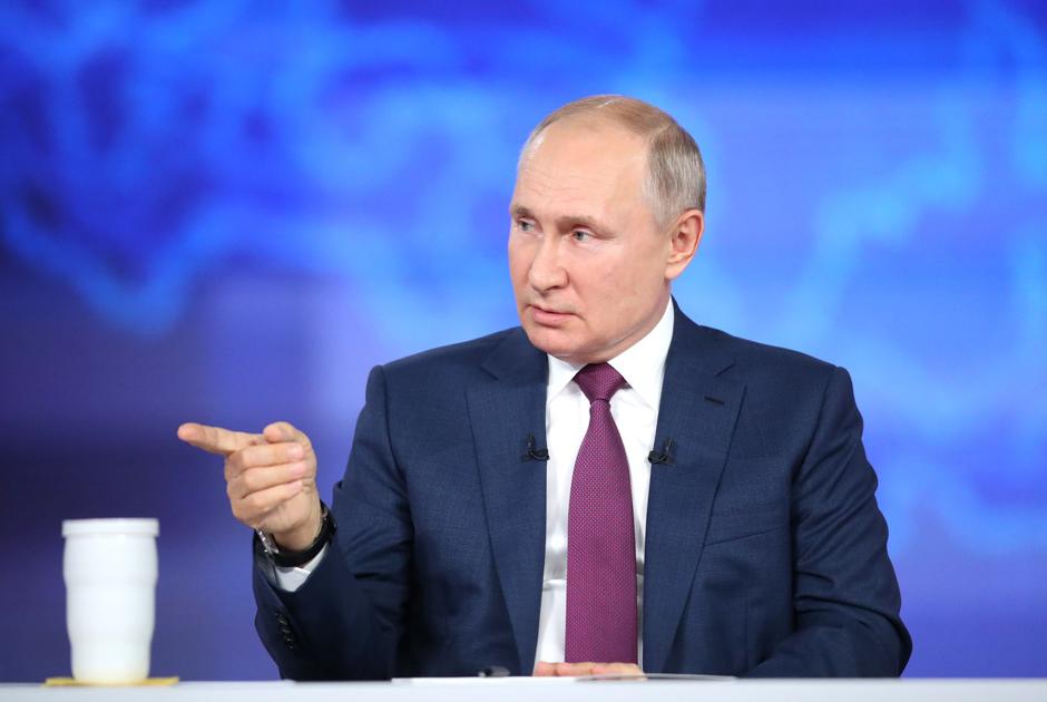 Вакцинация, Украина ицена набананы— очем говорил Путин напрямой линии