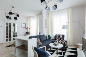 Светлые апартаменты виндустриальном районе
