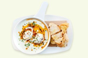 Завтраки дома:  Яйца по-турецки ияйца бенедикт изSaxon+Parole