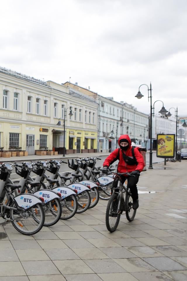 Работу московского велопроката продлили доконца ноября