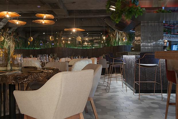 «Северный дым»: Ресторан Norra Rök с печью с севера Италии вДоме Печати