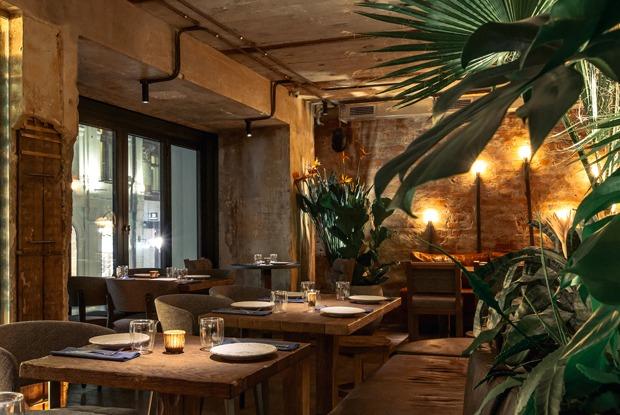 Dante Kitchen+Bar, «Шалом, баклажан!» и«Привет, Crevette!»