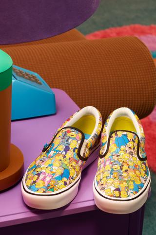 Новая коллекция Vans, посвященная «Симпсонам»